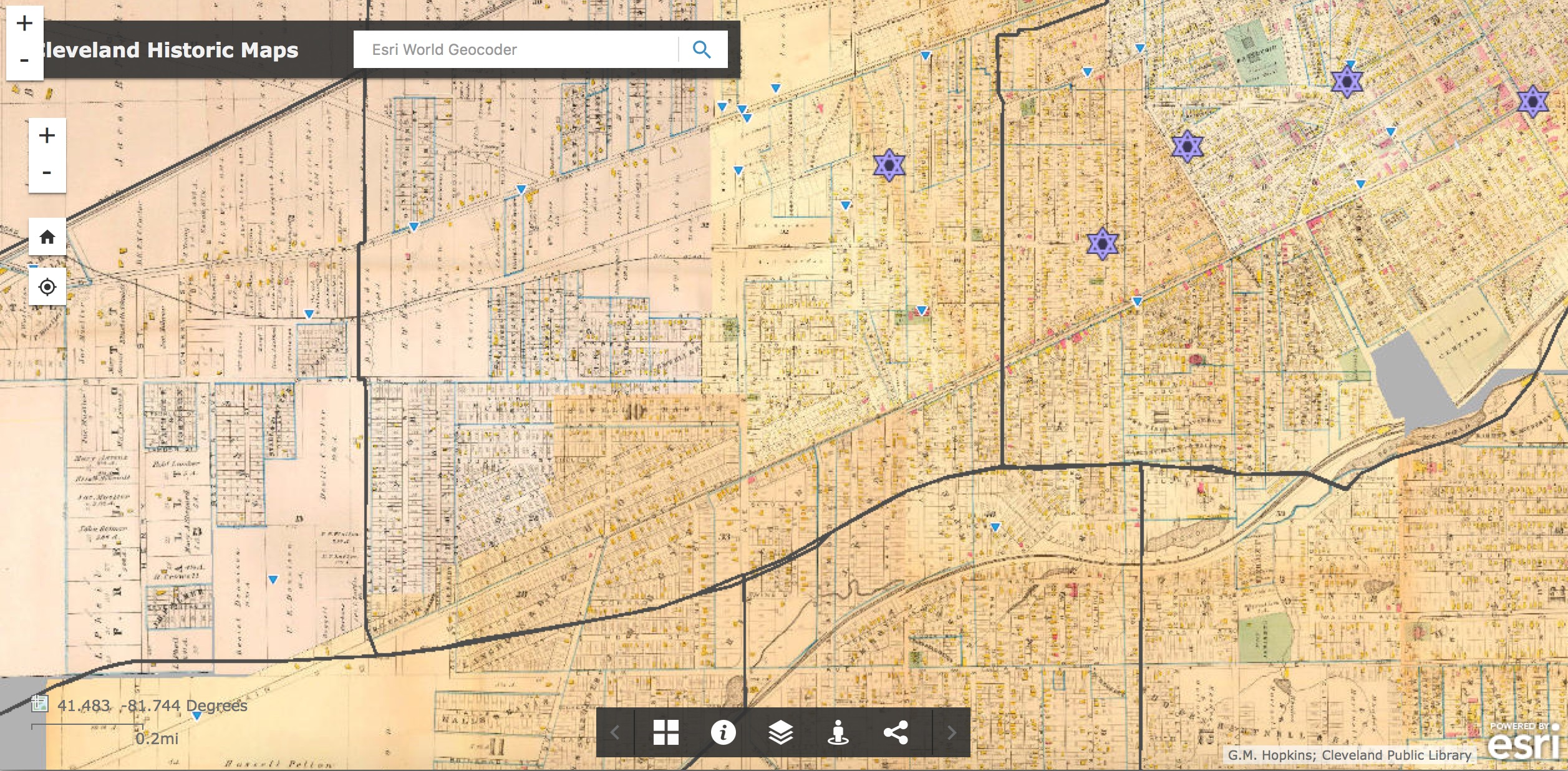 W12 HGIS Projects Historical GIS